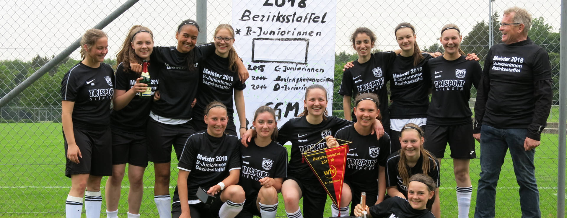 B-Juniorinnen Meisterschaft 2018